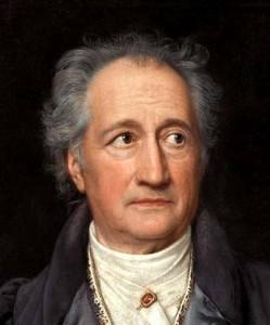 Hat gebabbelt: Johann Wolfgang von Goethe