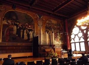 Die Aula der Alten Bibliothek in Marburg