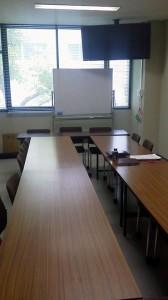 Einer der Unterrichtsräume